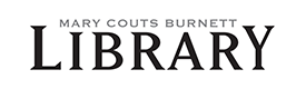 Mary Couts Burnett Library website