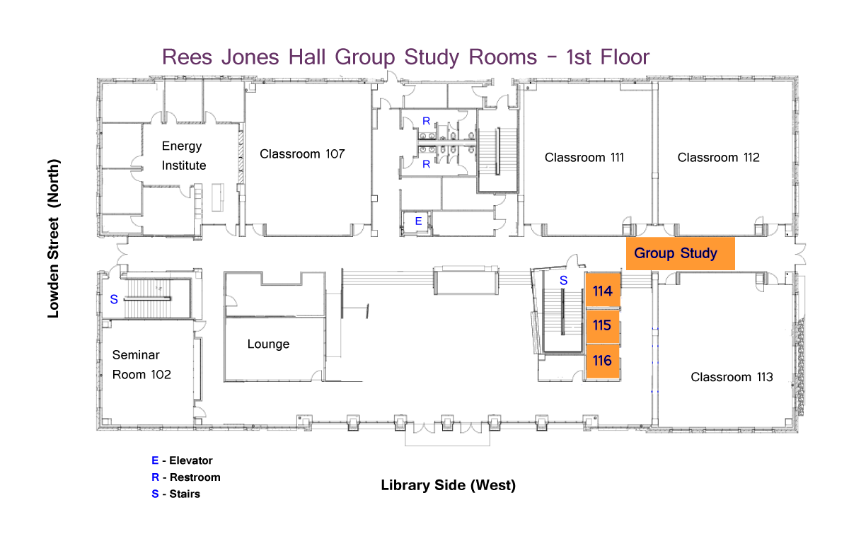 Library Floor Plans Maps And Directions Tcu Mary Couts